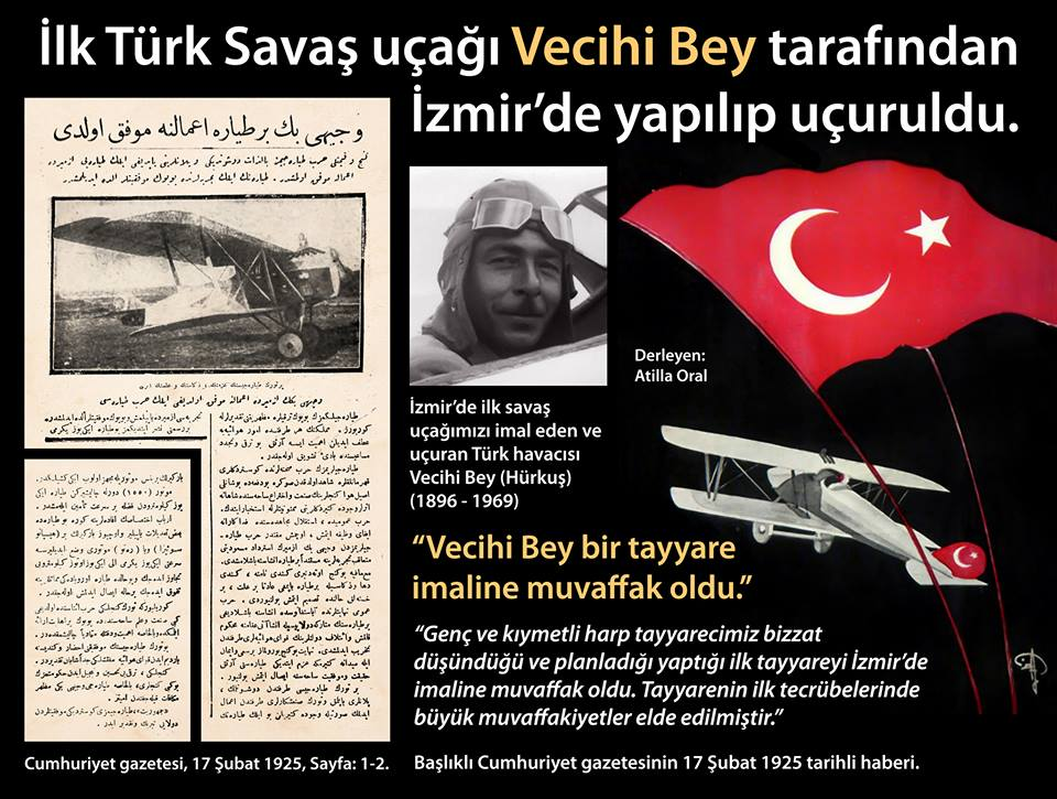 İlk Türk Savaş Uçağı